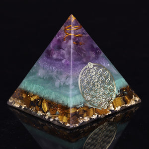 Serenity™ Energy Cleansing Pyramid Crystal