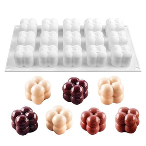 Ezzential™ 3D Chocolate Stacking Ball Mold