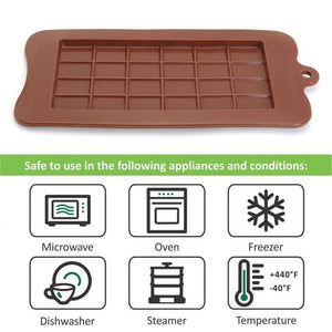 Ezzential™ Chocolate Bar Mold