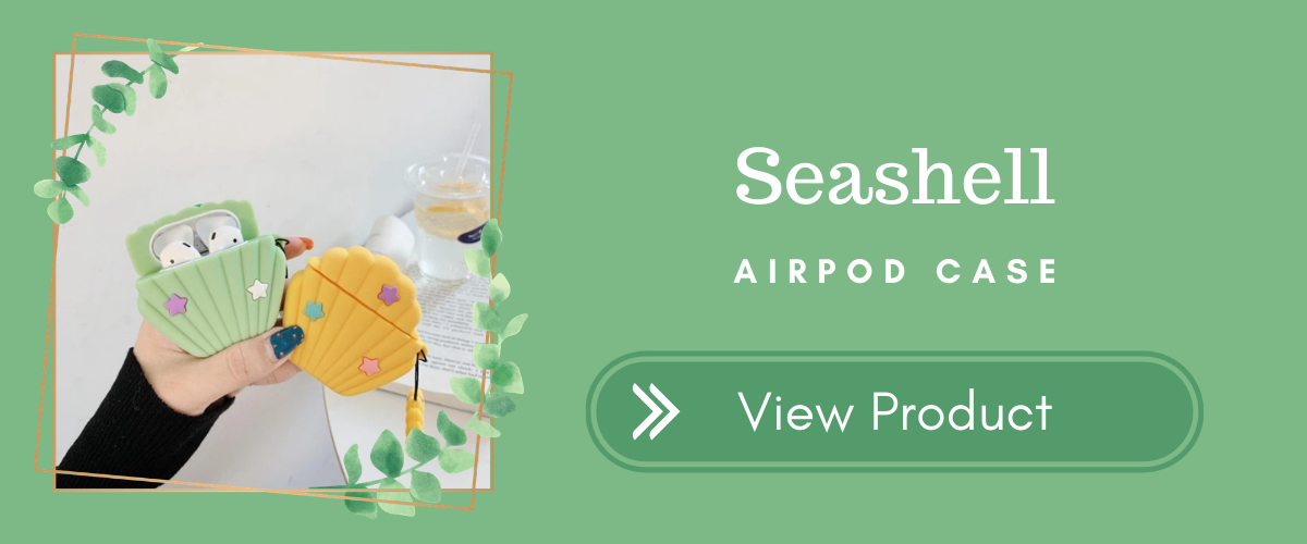 Seashell AirPods Case