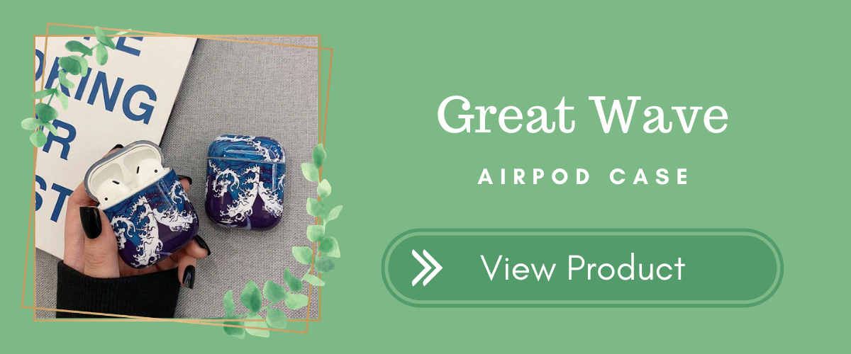 Great Wave AirPods Case