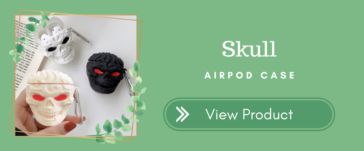 Skull Halloween AirPods Case