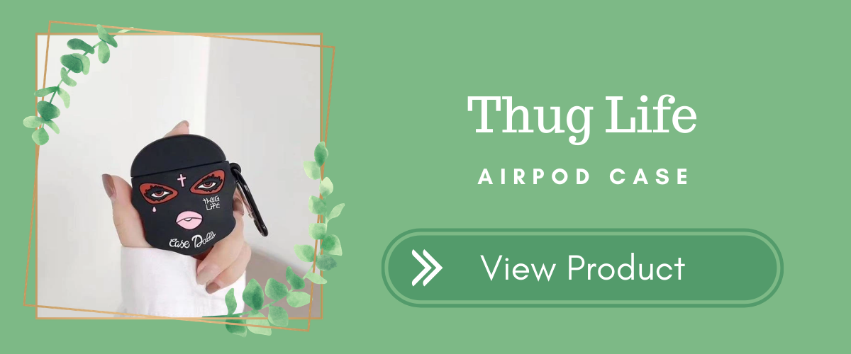 Thug Life AirPods Case Halloween