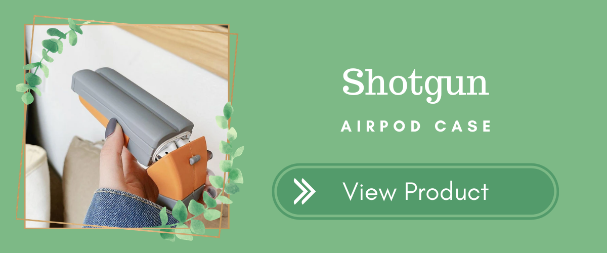 Shotgun AirPods Case Halloween