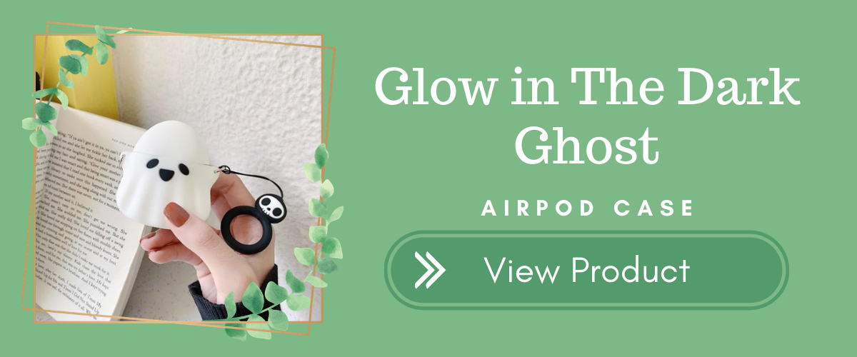Ghost Glow in the Dark AirPods Case