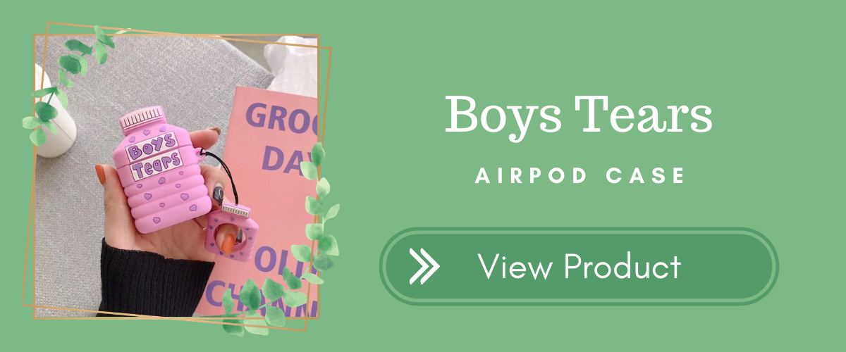 Boys Tears AirPods Case
