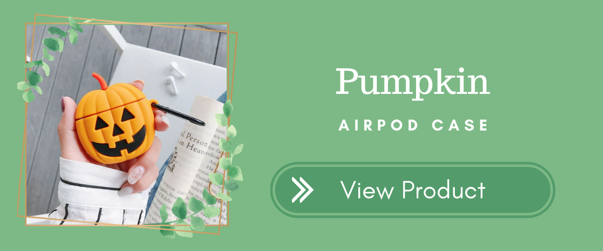 Pumpkin AirPods Case