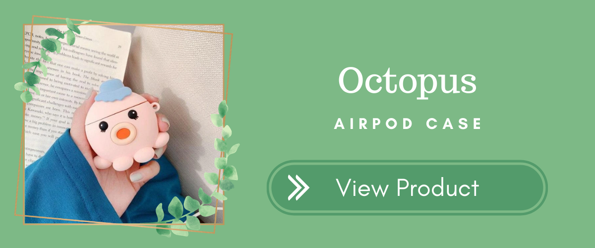 Octopus AirPods Case