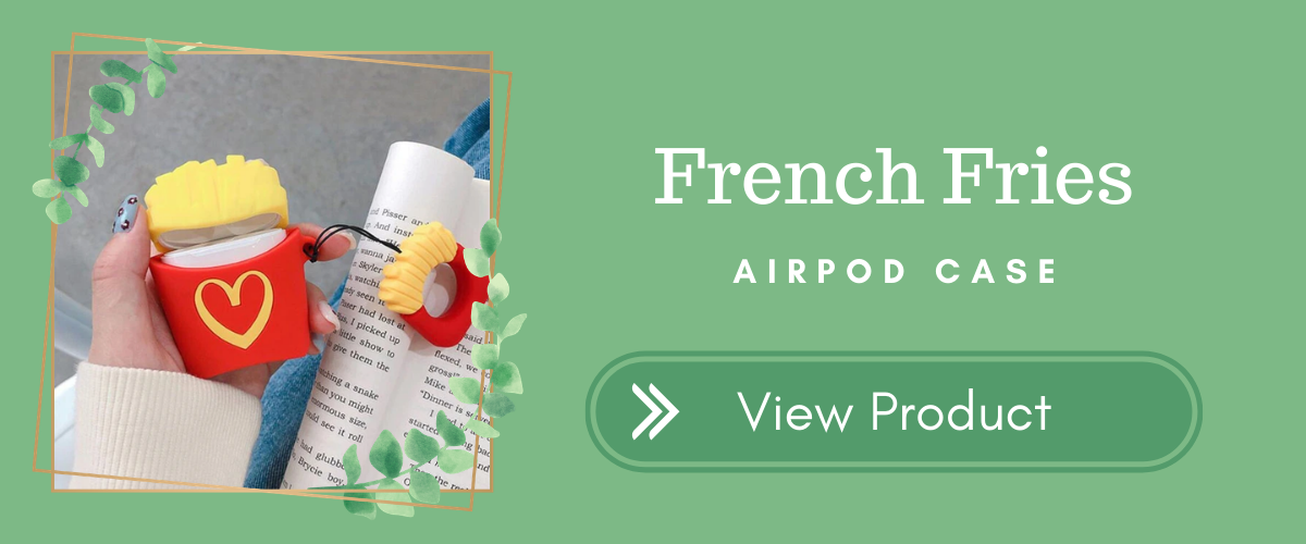 French Fries AirPods Case