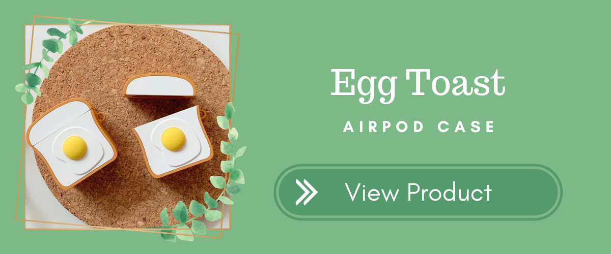 Egg Toast AirPods Case