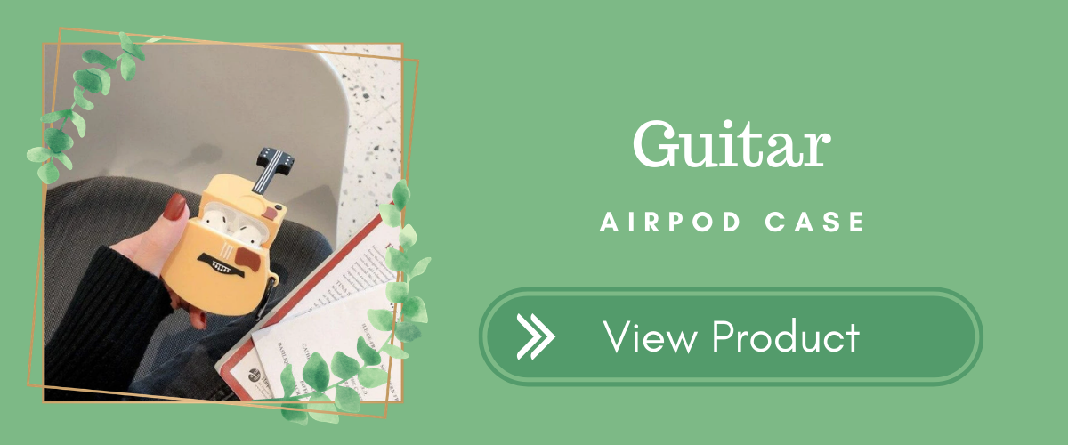 Guitar AirPods Case Indie