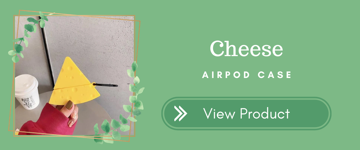 Cheese AirPods Case