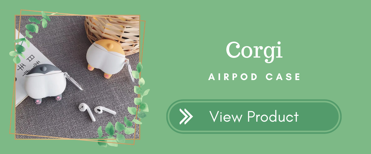 Corgi AirPods Case