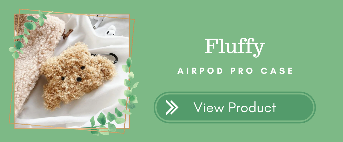 Fluffy AirPods Case Indie