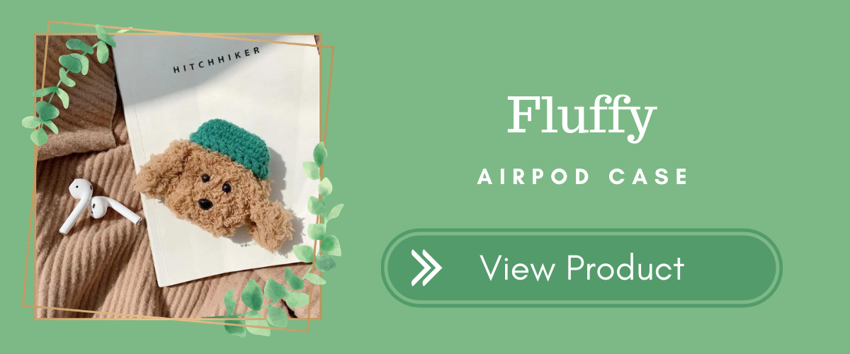 Fluffy AirPods Case