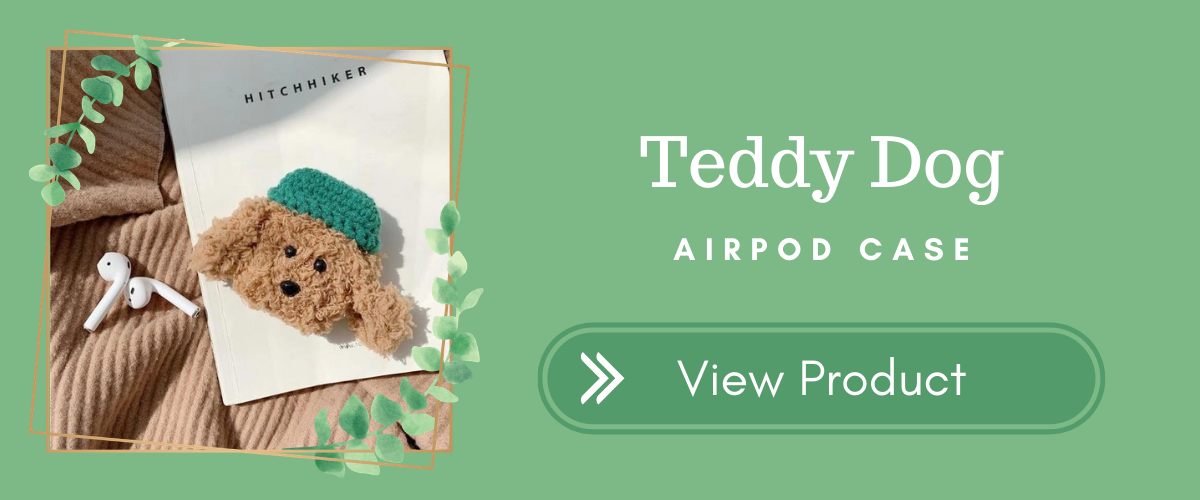 Teddy Dog AirPods Case
