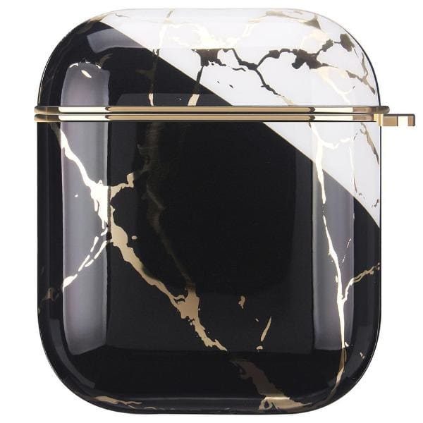 black-and-white-marble-airpod-case-with-clip