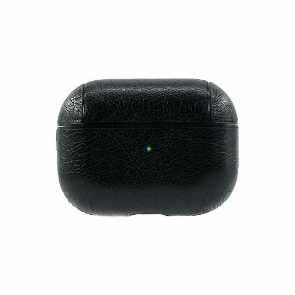 Black Leather <br> Airpods Pro Case