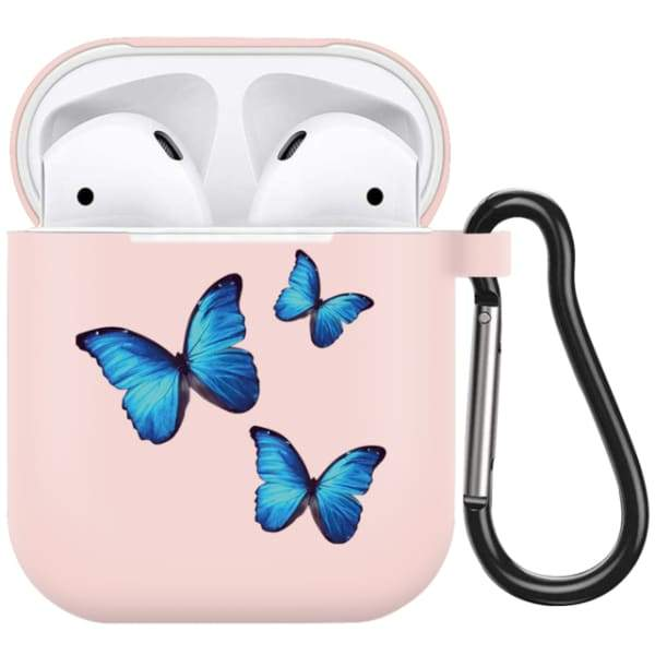 Blue Butterfly Airpod Case A