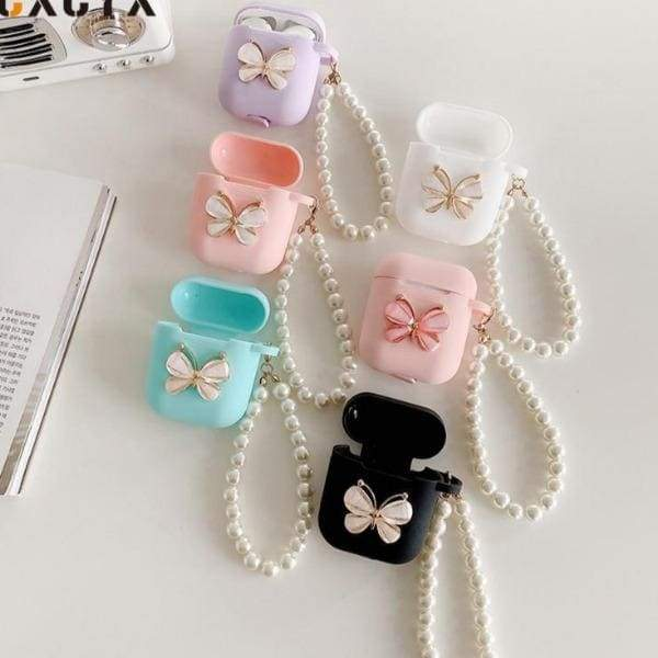 Butterfly-Silicone-Airpod-Case-white-aesthetic