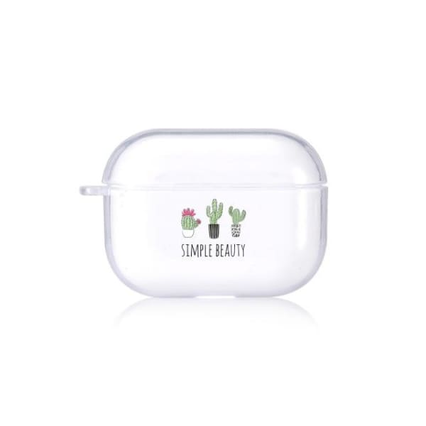 Clear Cactus Airpod Pro Case Cover