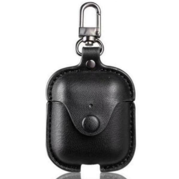 Leather Airpod <br> Case with Clip