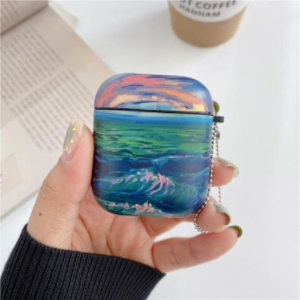 monet-airpod-case