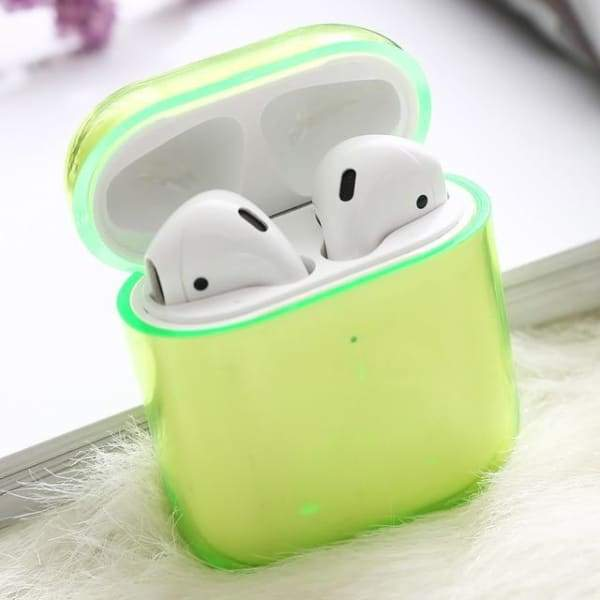 Neon Green Airpod Case