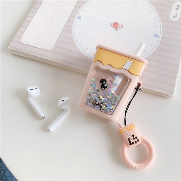 Pearl Boba Tea AirPods Case Cover 1 & 2