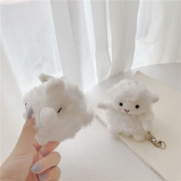 sheep-airpod-case-fluffy-open-earphones-wireless