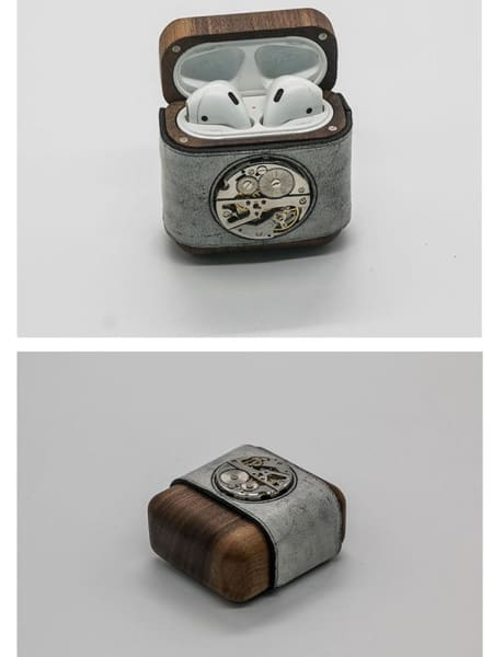 Steampunk AirPods Case