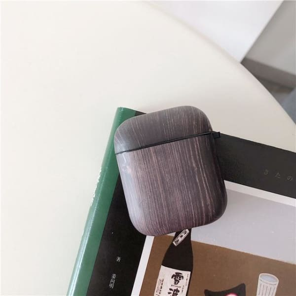 Wood Grain AirPods Case