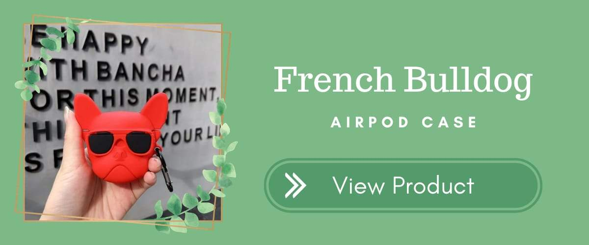French Bullddog AirPods Case