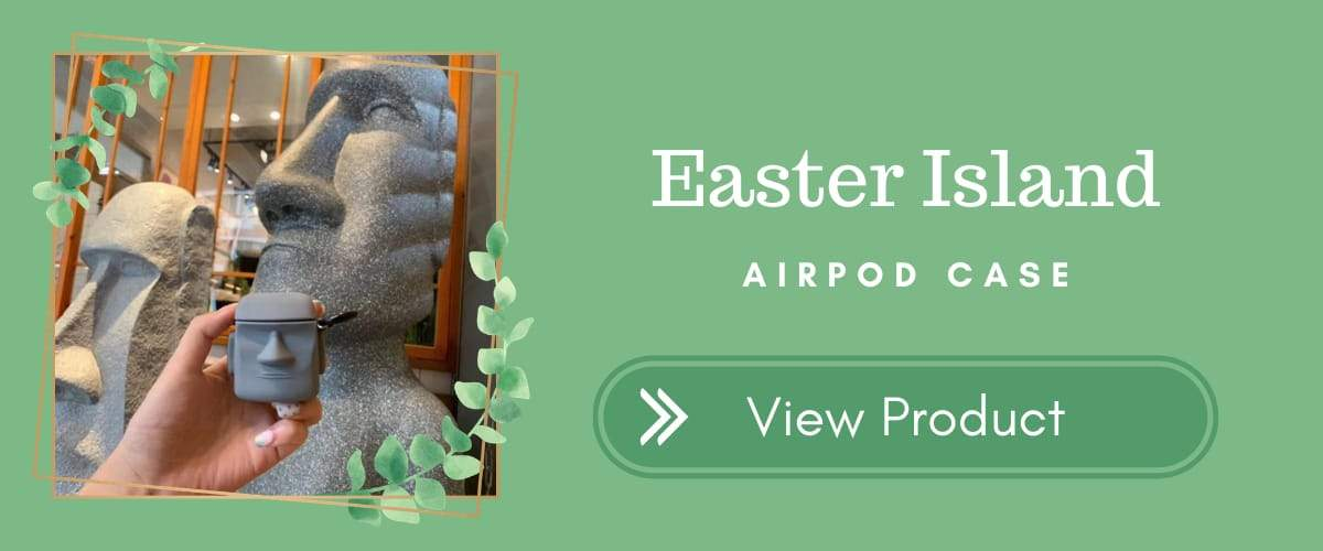 Easter Island AirPods Case