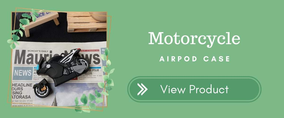 Motorcycle AirPods Case