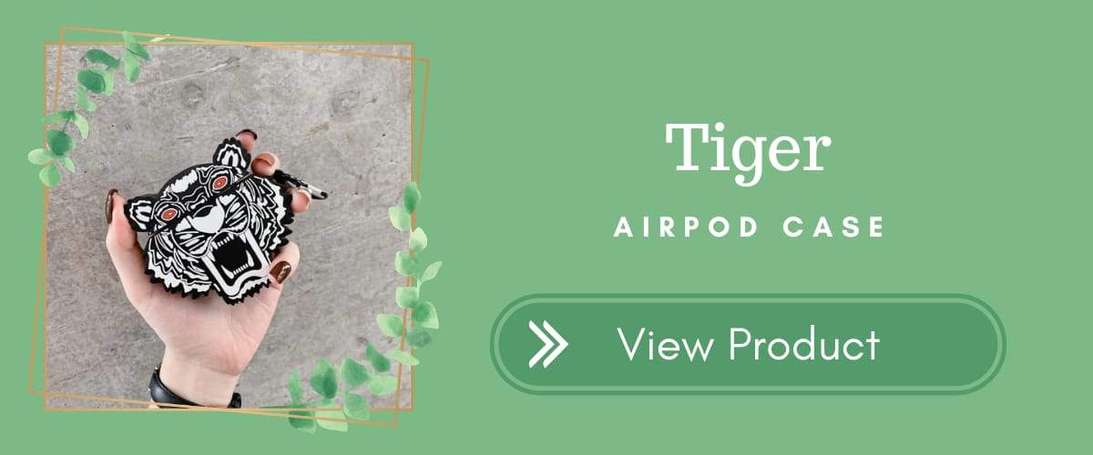 Tiger AirPods Case