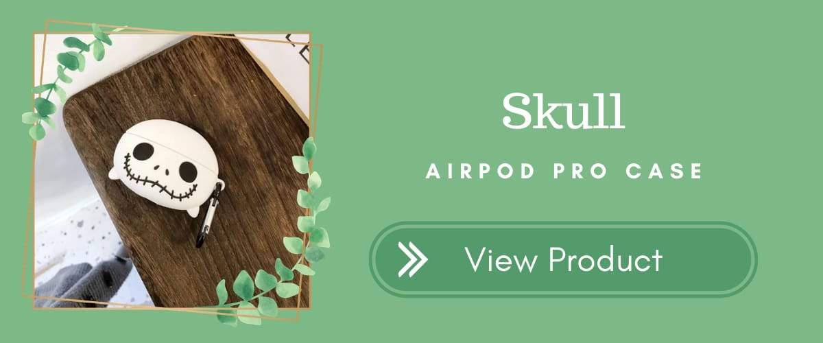 Skull AirPods Pro Case for Halloween