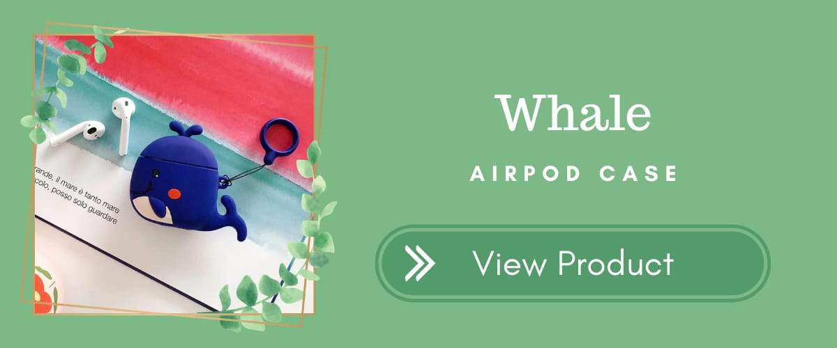 Whale AirPods Case