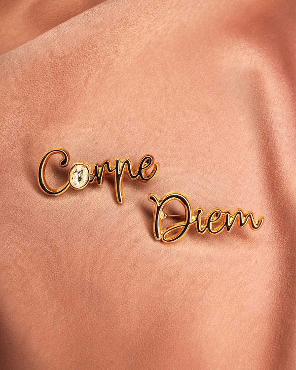 Broche Carpe Diem - Broches - froufrouz