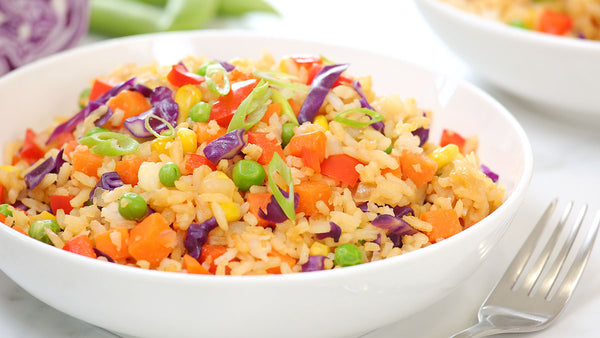 ▷ Rainbow Fried Rice | The Brand Decò