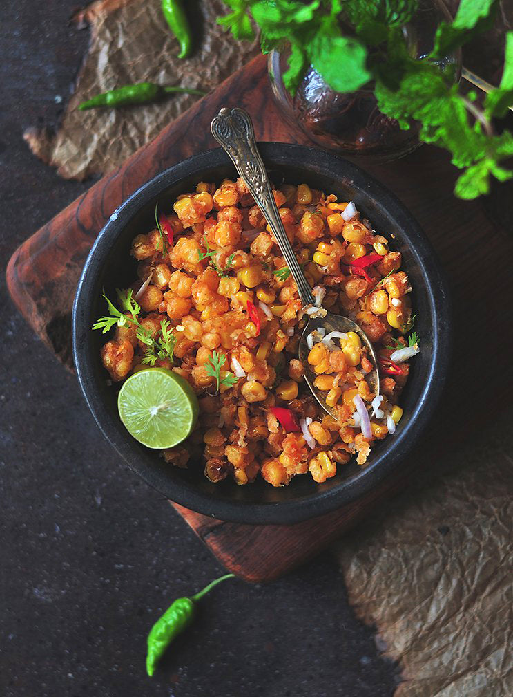▷ How to make: Crispy Corn Chaat | The Brand Decò