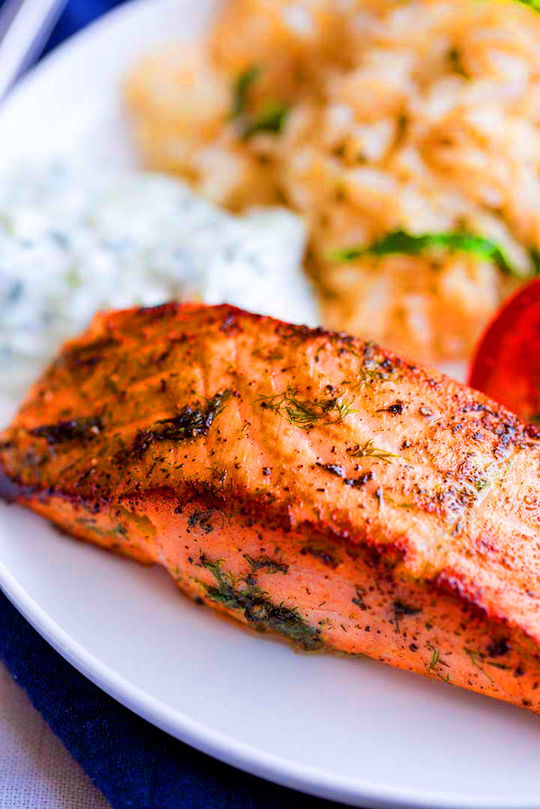 ▷ Enjoy this Salmon Recipe: Greek Salmon | The Brand Decò