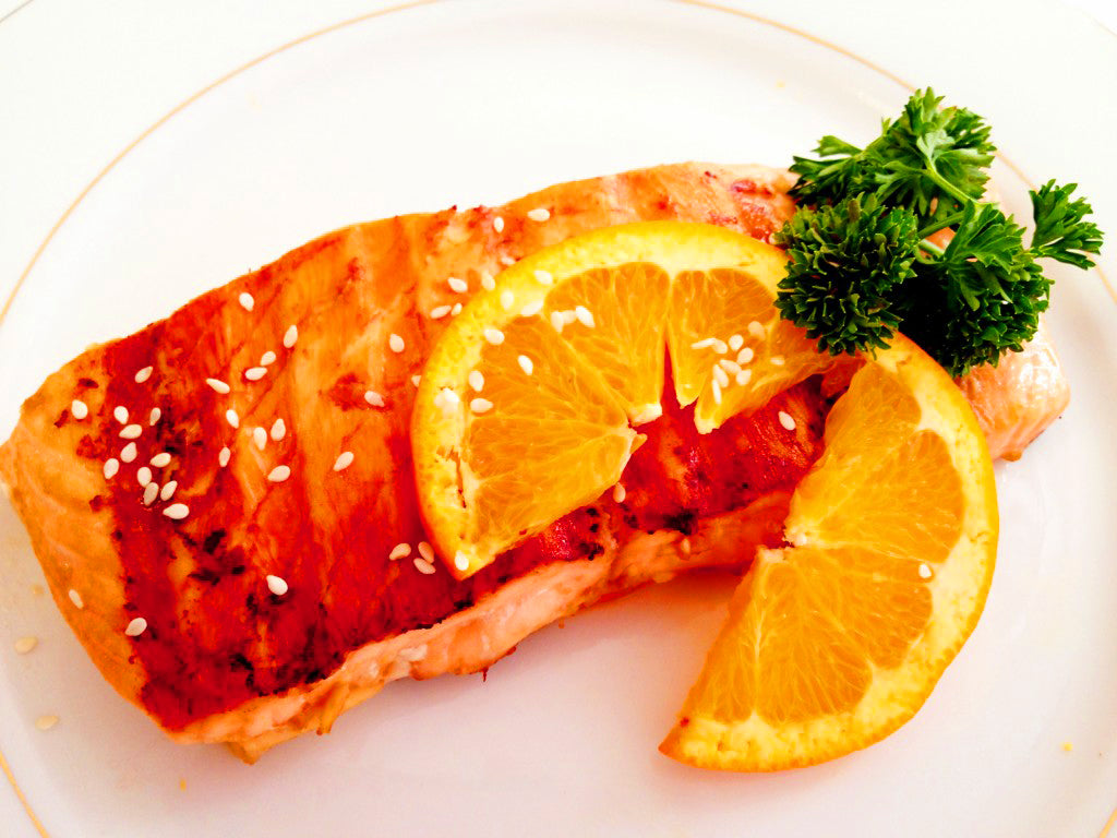 ▷ Enjoy this Salmon Recipe: Orange Ginger | The Brand Decò