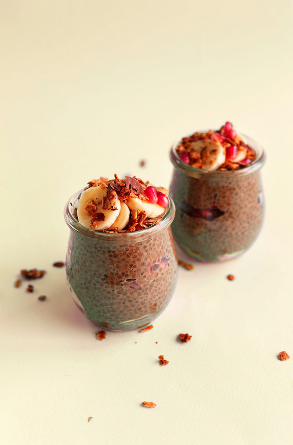 ▷ Overnight Chocolate Chia Seed Pudding | The Brand Decò