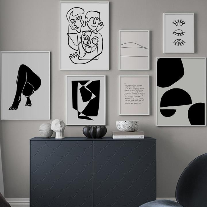 How To Use Abstract Wall Art In Your Home Without Making It Look Out Of Place?
