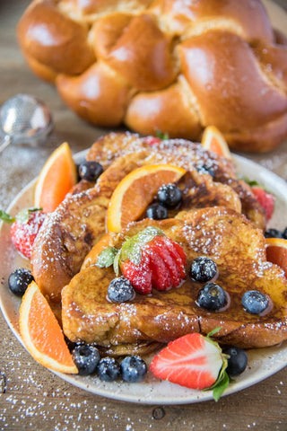 Challah Grapefruit French Toast