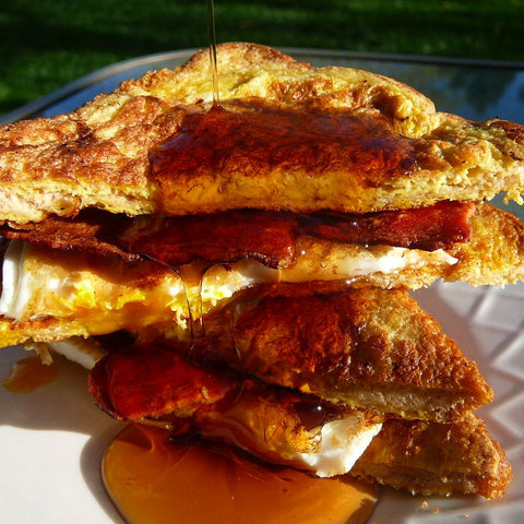 French Toast Bacon Butties