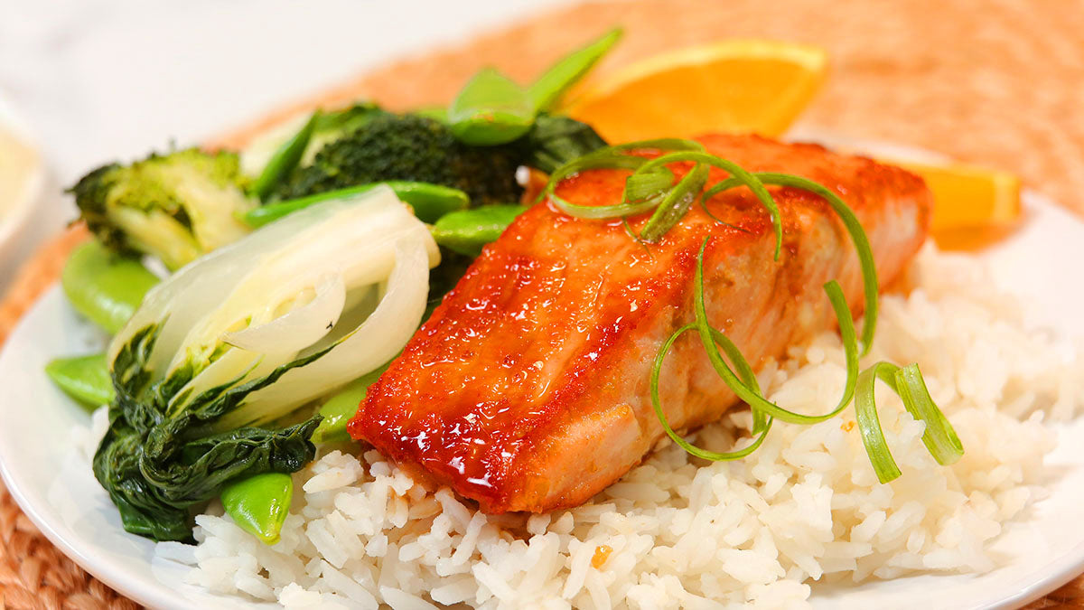 ▷ Enjoy this Salmon Recipe: Orange Ginger
