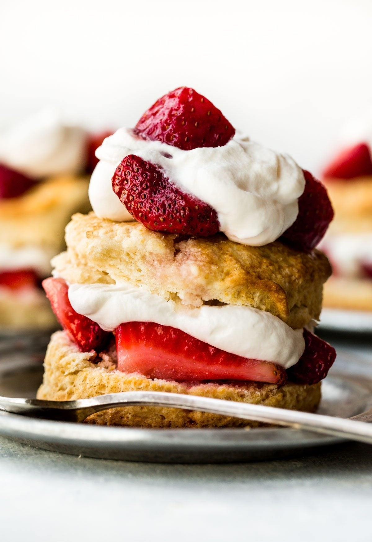 Creamy Desserts: Strawberry Shortcake