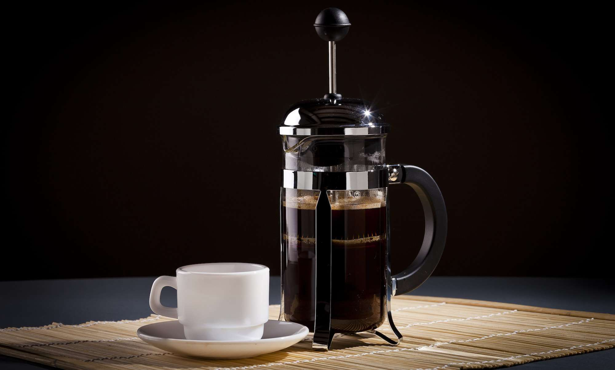 how to french press